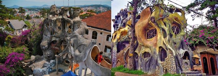 Гостиница Ханг Нга или Crazy House