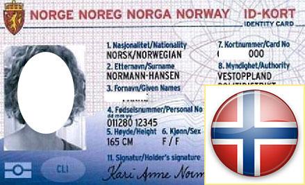 Удостоверение личности в Норвегии