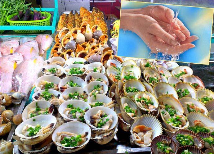 Морские блюда и гигиена