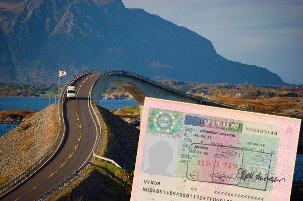 Дороги в Норвегию и виза