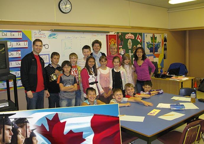Учебная стажировка в Канаде