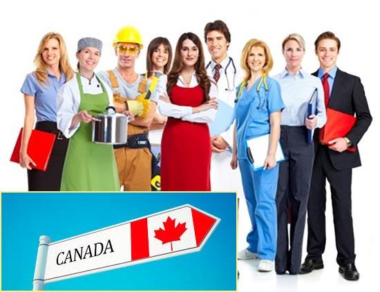 Популярные вакансии в Канаде