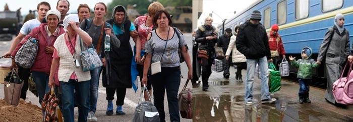Беженцы и переселенцы с Украины