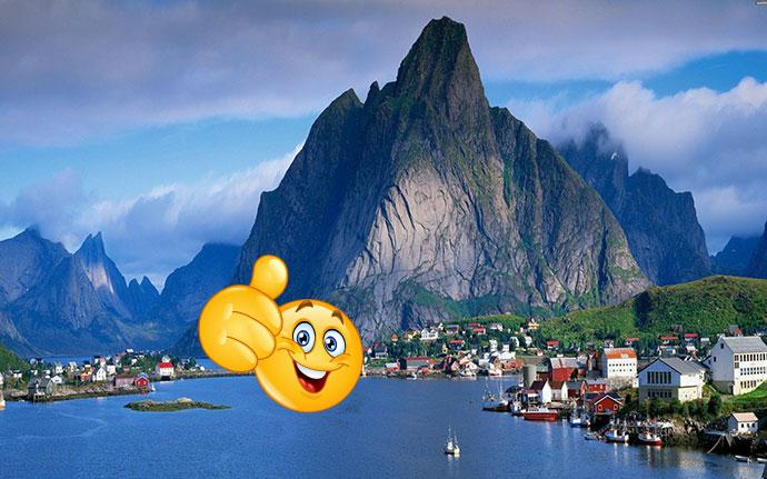 Природа и жизнь Норвегии, плюсы