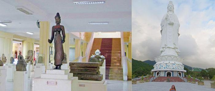 Музей Чамской скульптуры и храм Линь Ынг
