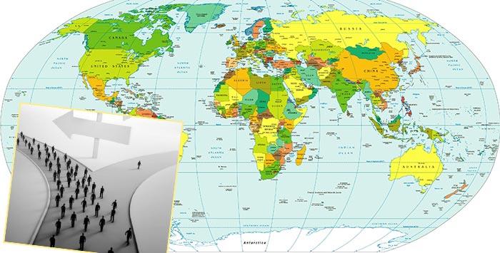 Миграция или репатриация в мире