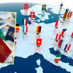 Страны и их флаги на карте и паспорта