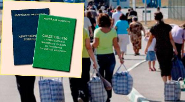 Приезжие, документы и статус беженца