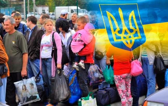 Переселенцы украинские