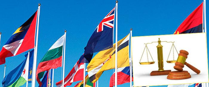 Флани арзных стран, закон и право
