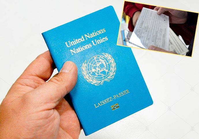 Предьявленеи иностранного паспорта и мигарционной справки