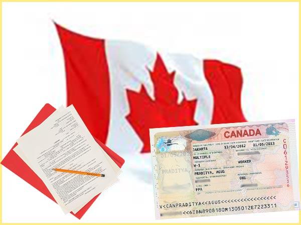Канада, арбочая виза и документы на визу