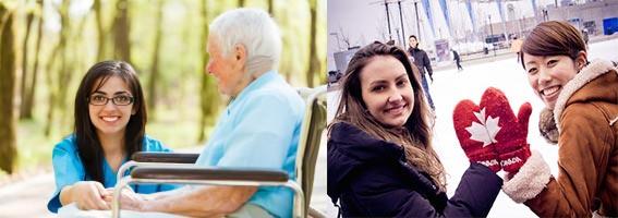 Уход за пожилыми и социальные работы в Канаде