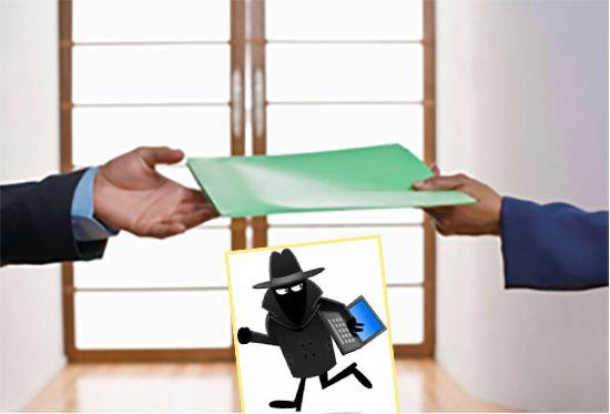 Подача документов о краже паспорта