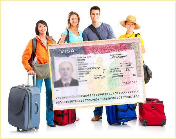 Туристы и гостевая виза