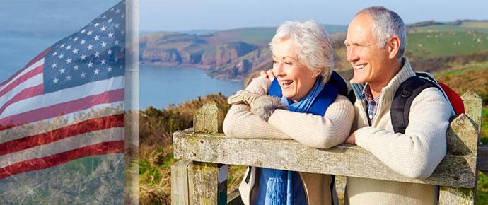 Пенсионеры США на отдыхе