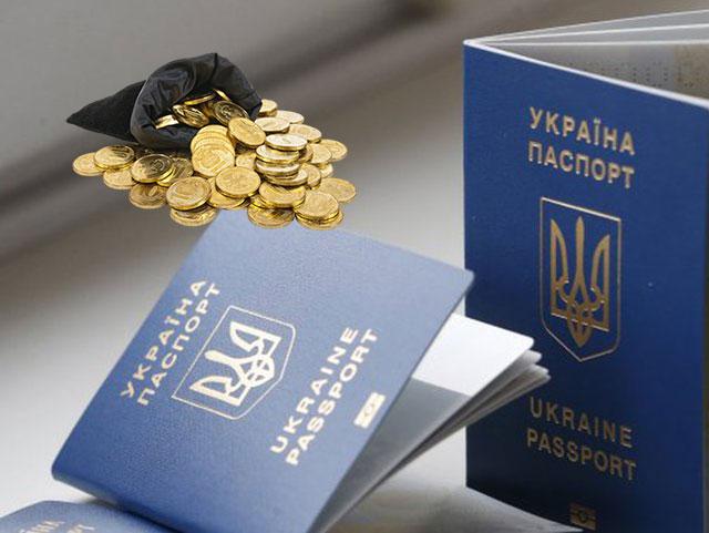 гранпаспорта Украины и монеты