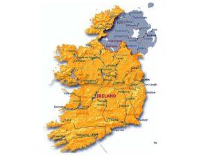 Карта Ирландии