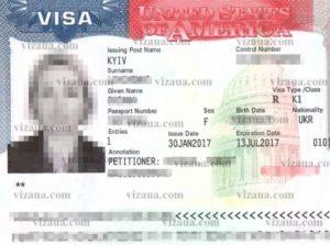Виза К1 – неиммиграционная