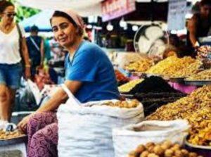 Показатель среднего жалования по турецким городам